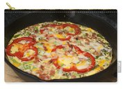 Colorful Vegetable Fritatta Carry-all Pouch
