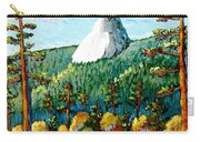 Colorful View Of Idyllwild California Carry-all Pouch