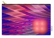 Colorful Waves Abstract Fractal Art Carry-all Pouch