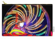 Colorful Wheel Of Lights Carry-all Pouch