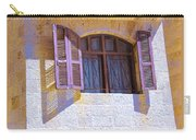 Colorful Window Shutters Carry-all Pouch