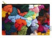 Colorful Yarn Otavalo Market Ecuador Carry-all Pouch