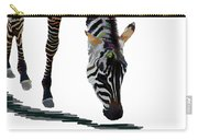 Colorful Zebra 2 Carry-all Pouch