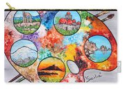Colori Di Sicilia Carry-all Pouch
