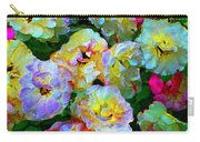 Colors And Roses Carry-all Pouch