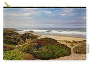 Colors And Texures Of The California Coast Carry-all Pouch