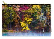 Colors In Early Morning Fog Carry-all Pouch by Parker Cunningham
