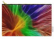 Colors Lines And Textures Carry-all Pouch