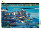 Colors Of A Fishing Fleet Carry-all Pouch