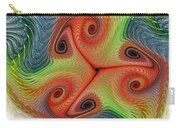 Colors Of Delight Carry-all Pouch by Deborah Benoit