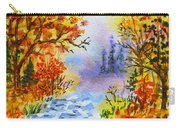 Colors Of Russia Autumn  Carry-all Pouch by Irina Sztukowski