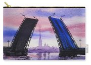 Colors Of Russia Bridges Of Saint Petersburg Carry-all Pouch