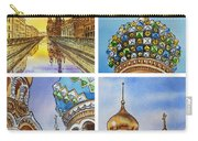 Colors Of Russia Church Of Our Savior On The Spilled Blood  Carry-all Pouch