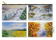 Colors Of Russia Four Seasons Carry-all Pouch
