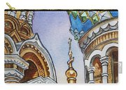 Colors Of Russia St Petersburg Cathedral II Carry-all Pouch
