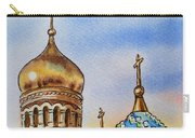 Colors Of Russia St Petersburg Cathedral Iv Carry-all Pouch by Irina Sztukowski