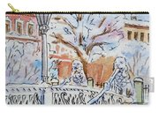 Colors Of Russia Winter In Saint Petersburg Carry-all Pouch