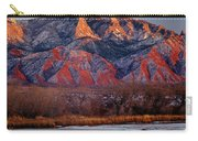 214501-colors Of Sandia Crest  Carry-all Pouch