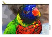 Colors Of The Lorikeet Carry-all Pouch