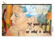 Colossians 3 2 Carry-all Pouch