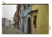 Coloured Houses In Burano Carry-all Pouch