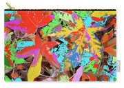 Coloured Leaves By M.l.d. Moerings  2009 Carry-all Pouch