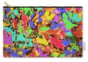 Coloured Oak Leaves By M.l.d. Moerings 2009 Carry-all Pouch