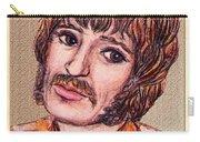 Coloured Pencil Portrait Carry-all Pouch