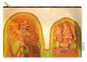 Coloured Reliefs Carry-all Pouch