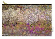 Colourful Almond Trees Carry-all Pouch