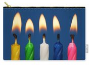 Colourful Candles Lit Carry-all Pouch