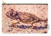 Colourful Chameleon Carry-all Pouch