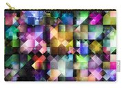 Colourful Fractal Jewels Carry-all Pouch