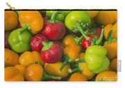 Colourful Mini Bell Peppers Carry-all Pouch