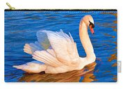 Colourful Swan Carry-all Pouch