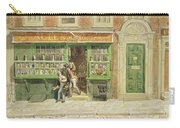 Colourmans Shop, St Martins Lane, 1829 Wc On Paper Carry-all Pouch