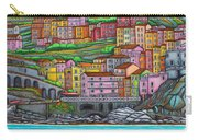 Colours Of Manarola Carry-all Pouch