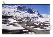 Columbia Icefields, Alberta - Panorama Carry-all Pouch