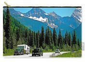 Columbia Mountains In Glacier Np-british Columbia Carry-all Pouch