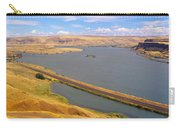 Columbia River In Oregon, Viewed Carry-all Pouch