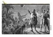 Columbus And The Lunar Eclipse, 1504 Carry-all Pouch