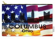 Columbus Oh Patriotic Large Cityscape Carry-all Pouch