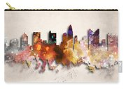 Columbus Painted City Skyline Carry-all Pouch