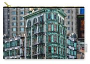 Columbus Tower In San Francisco Carry-all Pouch by RicardMN Photography