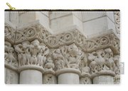 Column Relief Abbey Fontevraud  Carry-all Pouch