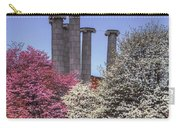 Columns And Dogwood Trees Carry-all Pouch