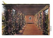 Columns And Flowers 2 Carry-all Pouch