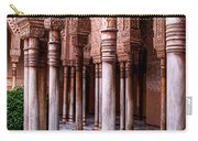 Columns Of The Court Of The Lions Carry-all Pouch