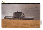 Combine Harvester And Cows Carry-all Pouch