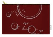 Combined Hoop And Tethered Ball Toy Patent 1967 Carry-all Pouch